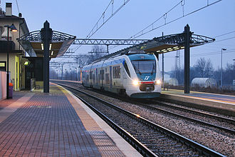 Rail transport in Italy - An Italian local train Minuetto