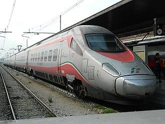 New Pendolino - Trenitalia Frecciargento ETR 600 at Venezia San Lucia