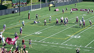 Fordham Rams football - Fordham vs. Columbia at Jack Coffey Field, 2015.