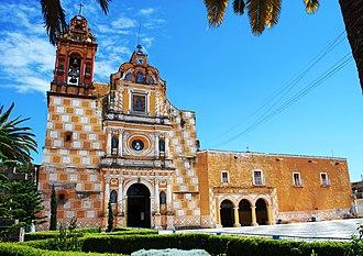 Ozumba - Facade of the church