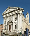 Facade Chiesa dei Gesuati Venice from east 2012.jpg