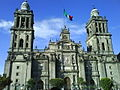 Fachada de la Catedral Metropolitana de la Ciudad de México.JPG
