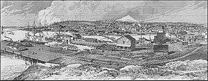 Fairhaven, Washington - Fairhaven in 1890