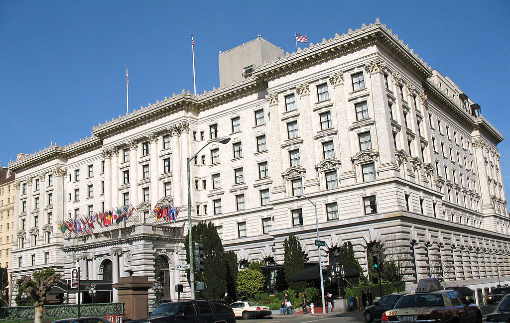 Fairmont Hotel San Francisco History