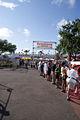Fans Watch The Field Being TowedToPractice SPGP 24March2012 (14719580923).jpg