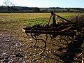 Farm machinery, Field, Kennels Road, Torbay - geograph.org.uk - 1225605.jpg