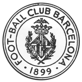 Fc barcelona 1st badge 1899