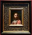Felice ficherelli o francesco furini, fanciulla, su rame, 1650 ca. 01.jpg