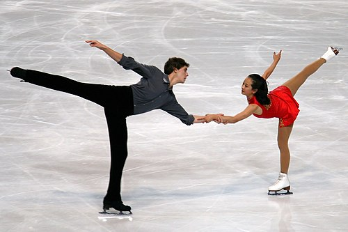 Zhang/Toth at the 2010 Trophée Eric Bompard
