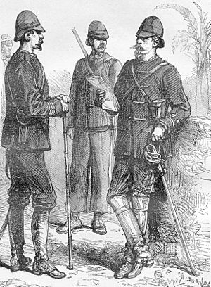 Pacification of Tonkin - General Edouard Ferdinand Jamont (1831–1918), the first commander of the Tonkin occupation division