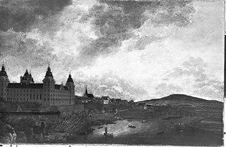 Das Aschaffenburger Schloss von Norden (Aschaffenburger Zyklus)