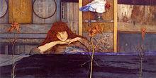 Ich schliesse mich in mich selbst ein, 1891, Neue Pinakothek, München (Quelle: Wikimedia)
