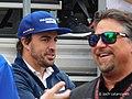 Fernando Alonso and Michael Andretti 2017 Indianapolis 500.jpg