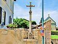 Ferrières-les-Scey. Calvaire au centre du bourg. 2015-06-26.JPG