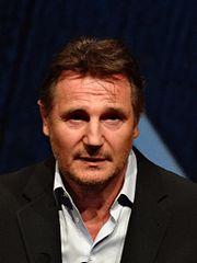 Liam Neeson, acteur interprétant le rôle de Qui-Gon Jinn.