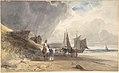 Figures on a Beach, Northern France MET DP800802.jpg