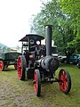 File-Aveling and Porter steam tractor, Dougal, front view, Abergavenny.jpg