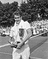 Finales tennis te Hilversum, E. S. Drysdale werd winnaar bij de heren, Bestanddeelnr 916-6821.jpg