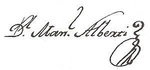 Manuel Alberti - Image: Firma de Alberti