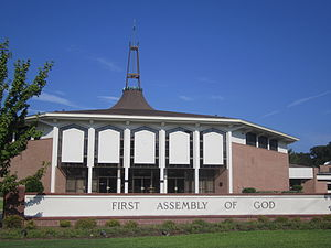 Assemblies of God USA - First Assembly of God, West Monroe, Louisiana