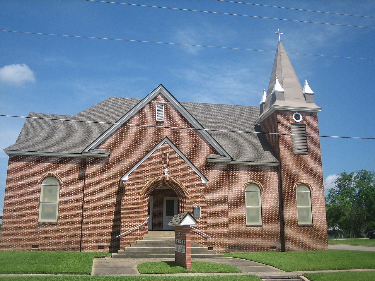 Christ Church Picture: File:First Christian Church Of Center, TX IMG 0953.JPG