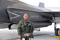 First F-35B Lightning II arrives at MCAS Beaufort 140717-M-UU619-907.jpg