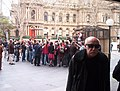 First Sydney flash mob, August 2003.jpg