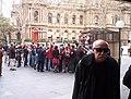 First Sydney flash mob, August 2003.jpg