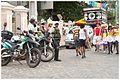 Fiscalização do trânsito - Blocos e agremiações enchem de animação o domingo de carnaval (8467859488).jpg