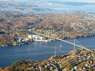 Knarrevik - View of the village