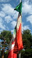 Flag of Iran in the Nishapur Railway Station square 20.JPG