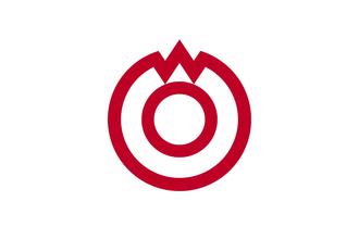 Yamaguchi, Yamaguchi - Image: Flag of Yamaguchi, Yamaguchi