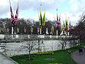 Flags at Buckingham Palace - geograph.org.uk - 1194909.jpg