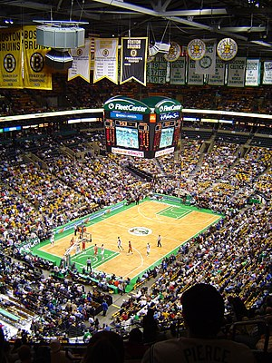 TD Garden - 2004 Celtics game vs the Charlotte Bobcats at the then named FleetCenter