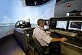 Flickr - Official U.S. Navy Imagery - A Navy officer navigates the new flight simulator..jpg