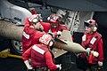 Flickr - Official U.S. Navy Imagery - Sailors arm a GBU-16 Paveway II..jpg