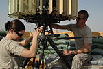 Flickr - The U.S. Army - Radar maintenance at Forward Operating Base Delta, Iraq.jpg