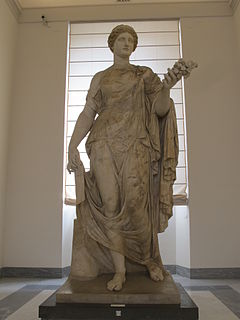 Flora (mythology) goddess of prosperity in Roman mythology