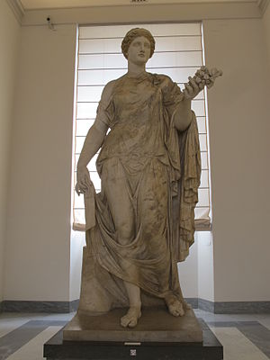 Flora (mythology) - Flora Farnese (Napoli)