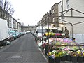 Flower sellers, Colestown Street, Battersea - geograph.org.uk - 325233.jpg