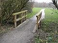 Footbridge near the Erewash - geograph.org.uk - 1111402.jpg