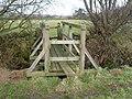 Footbridge on public footpath near Finkel Bottoms - geograph.org.uk - 662349.jpg