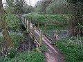 Footbridge over the River Maun - geograph.org.uk - 1261214.jpg