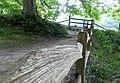 Footpath, Cerne Abbas - geograph.org.uk - 971623.jpg