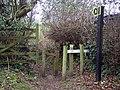 Footpath, Morgans Vale - geograph.org.uk - 312780.jpg