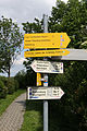 Forchtenstein - Naturpark 1061 - Rosalia-Kogelberg - Wegweiser I.jpg