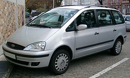 Ford Galaxy front 20071109