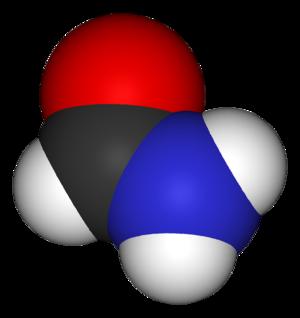 Formamide - Image: Formamide 3D vd W