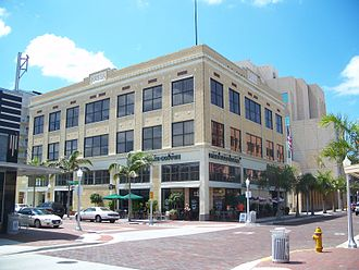 Fort Myers, Florida - Architecture of Downtown Fort Myers.