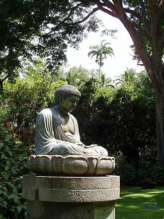 Foster Botanical Garden - Image: Foster Botanical Garden (Daibutsu) Honolulu, HI